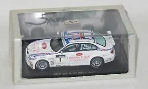 【送料無料】模型車 モデルカー スポーツカーチームイギリスアンディプリオール143 bmw 320 si wtcc 2007 bmw team uk andy priaulx