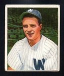 【送料無料】スポーツ メモリアル カード ヨースト#eddie yost rookie senators 1950 bowman 162 very good no creases
