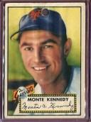 【送料無料】スポーツ メモリアル カード 1952トップス124モンテケネディpoord1641611952 topps 124 monte kennedy poor d164161