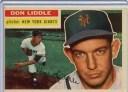 【送料無料】スポーツ メモリアル カード 1956トップスベースボールカードドンliddle gbピッチャーニューヨークジャイアンツex32519..