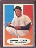 【送料無料】スポーツ メモリアル カード 1961トップス222ジミーmg nmd1734821961 topps 222 jimmy dykes mg nm d173482