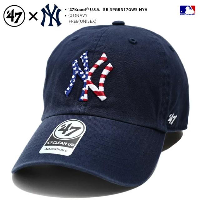 フォーティーセブンブランド 47BRAND 帽子 キャップ 【B-SPGBN17GWS-NYA】 メンズ レディース ロ