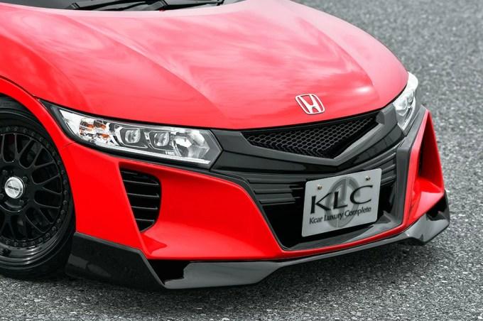 ケイエルシー S660 JW5 フロントバンパー 未塗装 KLC Premium GT プレミアムGT