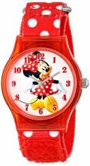 ディズニー 腕時計 キッズ 時計 子供用 ミニー Disney Kids' W001250 Disney Tween Minnie Mouse Plastic Watch, Plastic Printed Stra..