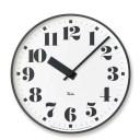 掛け時計 【RIKI PUBLIC CLOCK リキパブリッククロック】 WR17-06 シンプル オシャレ アルミニウム カワイイ クロック 壁掛け 時計 丸..