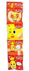 ★まとめ買い★ 亀田製菓 ハッピーターンミニ4連 60g ×10個【イージャパンモール】