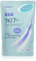 熊野油脂(株) ファーマアクト 弱酸性薬用シャンプー 詰替え(400mL) ×24個【イージャパンモール】