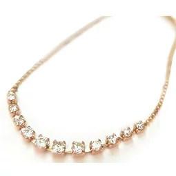 【送料無料】K18 天然 ダイヤモンド ブレスレット11粒デザイン ダイヤモンド
