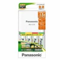 K-KJ55MLE40【税込】 パナソニック 急速充電器セット(単3形×4本付) Panasonic 充電式EVOLTA [KKJ55MLE40]【返品種別A】【RCP】