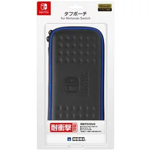 【Nintendo Switch】タフポーチ for Nintendo Switch ブラック×ブルー 【税込】 ホリ [NSW-010]【返品種別B】【RCP】
