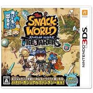 【封入特典付】【3DS】スナックワールド トレジャラーズ レベルファイブ [CTR-P-BWSJ 3DSスナックワールド]【返品種別B】