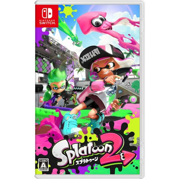 【Nintendo Switch】Splatoon 2(スプラトゥーン2) 【税込】 任天堂 [HAC-P-AAB6A NSWスプラトゥーン2]【返品種別B】【送料無料】【RCP】