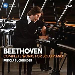 【送料無料】ベートーヴェン:ピアノ独奏作品全集 【輸入盤】▼/ルドルフ・ブッフビンダー[CD]【返品