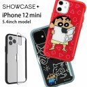 クレヨンしんちゃん SHOWCASE+ iPhone 12 mini 写真やメモが挟めるケース クリアカバー しんち……