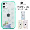 ディズニー プリンセス IIIIfit clear iPhone 12 mini ケース キャラクター クリアケース 大人……