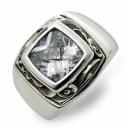 AQUA FORTIS アクアフォルティス シルバー リング 指輪 ホワイト 20代 30代 彼氏 メンズ