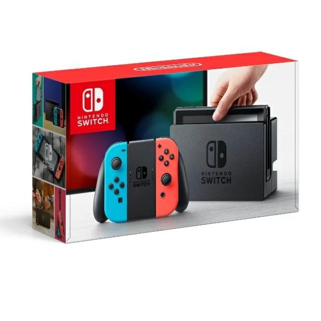あす楽 Nintendo Switch Joy-Con(L) ネオンブルー/(R) ネオンレッド