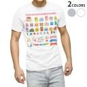 tシャツ メンズ 半袖 ホワイト グレー デザイン XS S M L XL 2XL Tシャツ ティーシャツ T shirt 013478 プレゼント ふうせん クラッ..