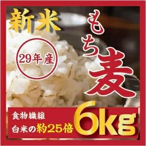 もち麦 6kg 新米29年産/ダイエット麦ごはん/ご飯 /もちむぎ /大麦 /麦 βグルカンを含有する 麦ご飯 雑穀の麦 /韓国産/栄養 健康 食物繊維を豊富に含んでいる