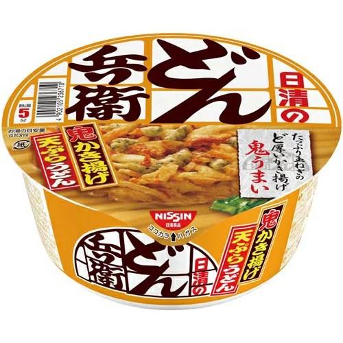 日清食品 日清のどん兵衛 かき揚げ天ぷらうどん全国版12個入 - カウモール