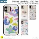 iPhone 12 12 mini 12 Pro 11 XR 8 7 SE 第2世代 専用 ムーミン Latootoo カード収納型 ミラー……