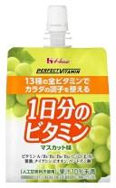 PERFECT VITAMIN 1日分のビタミンゼリー マスカット味 180g×6