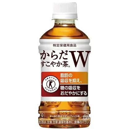 【送料無料】[コカ・コーラ] からだすこやか茶W(350mL×24本入×2ケース=48本)【特定保健