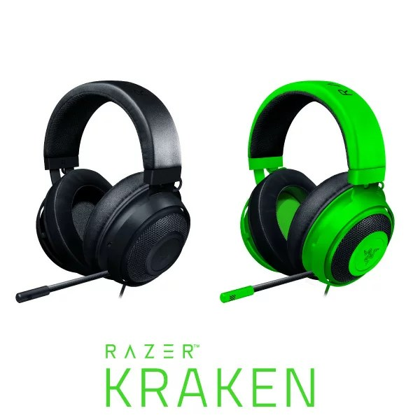 [あす楽対応] Razer Kraken 有線 ゲーミングヘッドセット レーザー (ヘッドセット) RZ04-02830200-R3M1 RZ04-02830100-R3M1 2019 レイザー 冷却ジェルパッド [PSR]