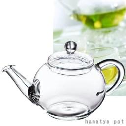 【 ティーポット ・ 耐熱ガラス 】花茶 耐熱ガラスポット