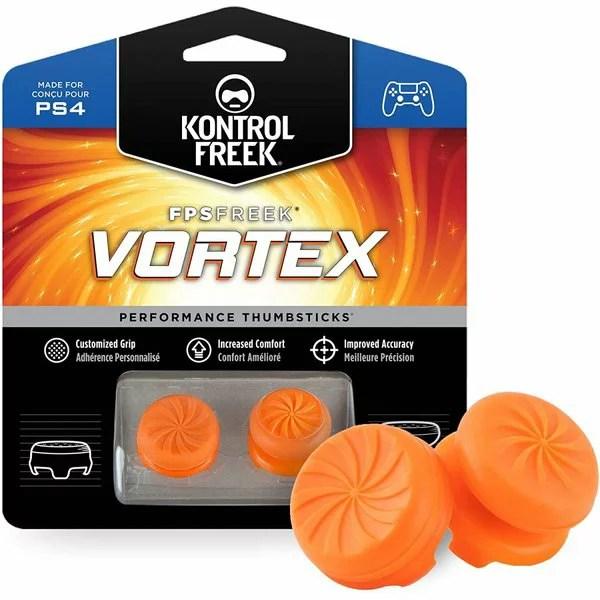 FPS フリーク Freek Vortex オレンジ 左右で高さが違う FPS フリーク PlayStation 4 PS4 オレンジ F-OG [並行輸入品]【ゆうパケット(メール便)送料無料】