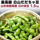 枝豆 だだちゃ豆 数量限定 幻の枝豆 白山だだちゃ豆・本豆 木村名人の完熟だだちゃ豆 本豆 1.5kg(500g×3袋)朝採れをお届け