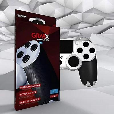 GAIMX GRABX コントロールグリップ PS4 FPS【メール便のみ送料無料】Playstation 4 control gripアンチスリップ グリップ 汗による滑り止めコントローラーの滑り止め※代引き・ニッセン後払いできません