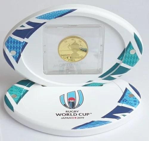 ラグビーワールドカップ2019年 日本大会記念貨幣 一万円金貨幣プルーフ貨幣セット 平成31年(2019)
