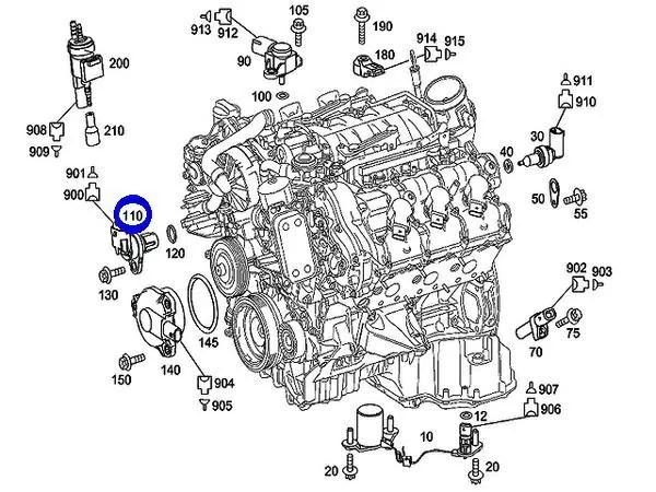 Mercedes C300 Engine Diagram Mercedes C240 Engine Diagram Wiring Diagram ~ Odicis