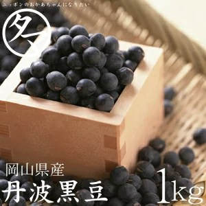 【送料無料】丹波黒大豆大粒2Lサイズ10