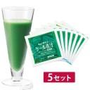 キューサイ青汁 ケール青汁 冷凍タイプ 90g×7パック入 5セット