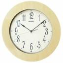 セイコー【SEIKO】アナログ電波クロック 掛け時計 木枠 KX219A★【ナチュラル】