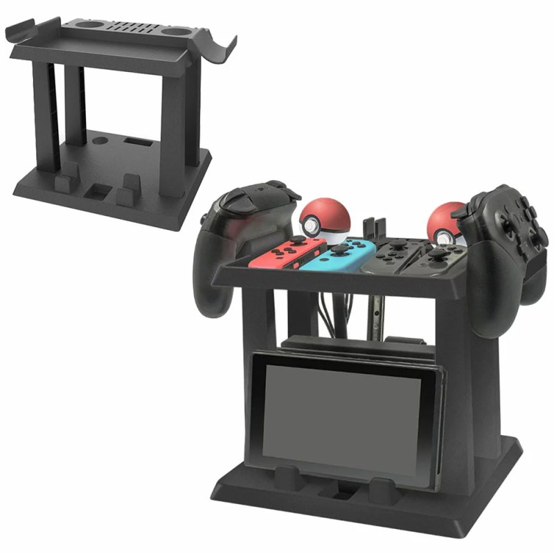 Nintendo Switch用 縦置き収納スタンド 周辺機器 ホルダー スイッチ本体 Joy-Co