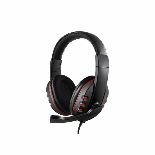 在庫あり 即納 ゲーミングヘッドセット 3.5mm ヘッドホン 密閉型 高音質 マイク付き コネクタ 伸縮可能ヘッドアーム ブラック PS4 Xbox One for iPhone などに対応 cpddm