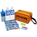 熱中症対策応急キット 熱中症対策グッズ 備蓄水 冷感タオル 瞬間冷却材 防災セット バッグ コンパクト リンクサス