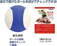 【あす楽対応】変化球回転チェックボールA号・C号サイズ 野球ボール BB960