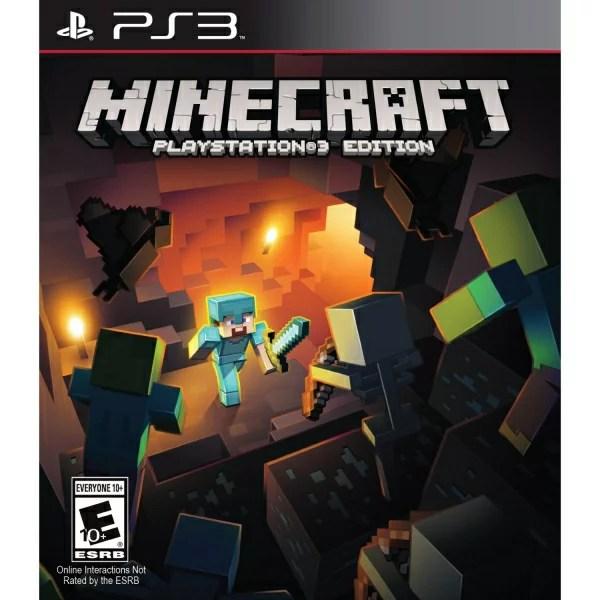 在庫あり☆[100円便OK]【新品】【PS3】Minecraft Playstation 3 Edition (マインクラフト/マイクラ)【海外北米版】【YDKG-u】【RCP】