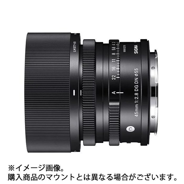 《新品》 SIGMA (シグマ) C 45mm F2.8 DG DN(ソニーE用/フルサイズ対応) [ Lens   交換レンズ ]【KK9N0D1...