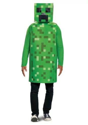 Minecraft Classic Creeper コスチューム ハロウィン メンズ コスプレ 衣装 男性 仮装 男性用 イベント パーティ ハロウィーン 学芸会