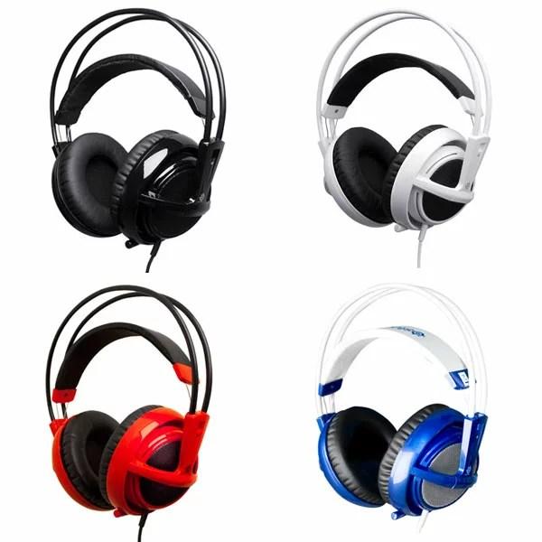SteelSeries Siberia V2 Full-Size Headphone Stereo ヘッドフォン ヘッドセット ゲーミングヘッドセット