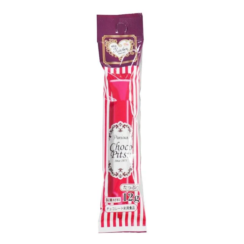 サインチョコ(チョコペン) レッド 12g