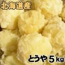 送料無料 新じゃがいも とうや 5kg 北海道産 ジャガイモ 産地直送