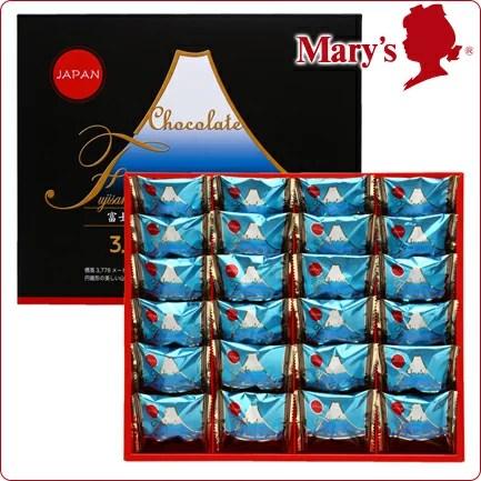 メリーチョコレート 富士山ミニチュアクランチチョコレート 24個入 お菓子 お土産 子供 洋菓子 ギフト プレゼント スイーツ 2018