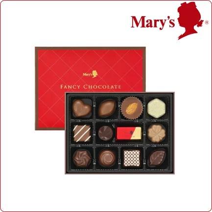 メリーチョコレート ファンシーチョコレート 12個入 お菓子 詰め合わせ 子供 洋菓子 ギフト プレゼント スイーツ 2019