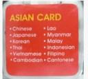 手書き入力対応 電子翻訳機 GLOVAL TALKER  GT-V4/V5対応 アジア言語カード(11言語)GLC-AA11